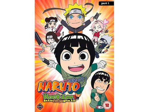 Naruto: Rock Lee and His Ninja Pals - Collection 1 DvD