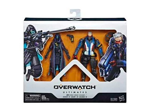 Overwatch: Ultimates - Soldier 76 and Ana -Figuuri