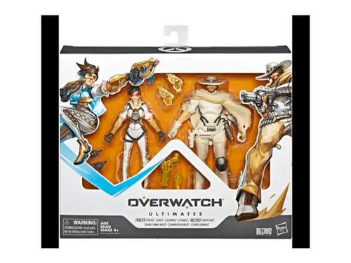 Overwatch Ultimates Wh McCree and Posh Tracer -Figuuri