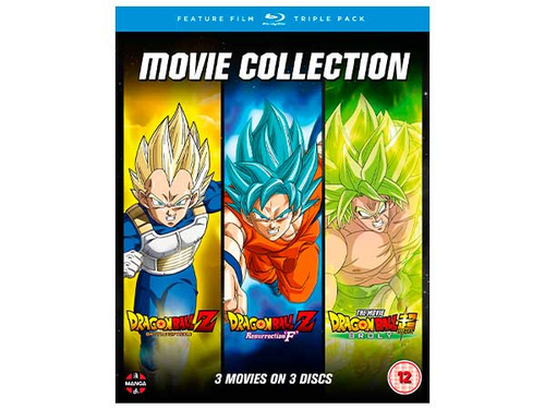 Dragon Ball Movie Trilogy -Bluray
