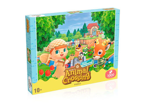 Animal Crossing New Horizons Jigsaw Puzzle Characters -Palapeli