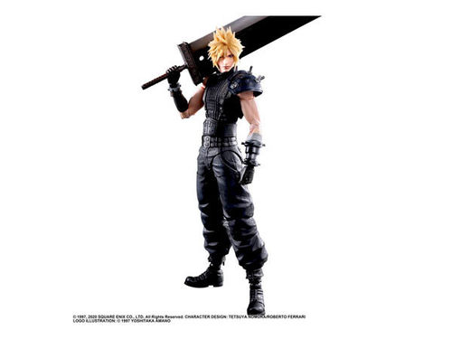 Final Fantasy VII Remake Play Arts Kai Cloud Strife Ver. 2 -Figuuri