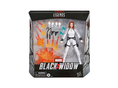 Marvel Legends Series Deluxe Action Figure Black Widow -Figuuri