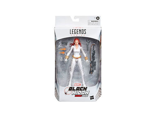 Marvel Legends Series Black Widow White Suit Deadly Origin -Figuuri