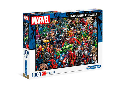 Marvel 80th Anniversary Impossible Puzzle Characters -Palapeli
